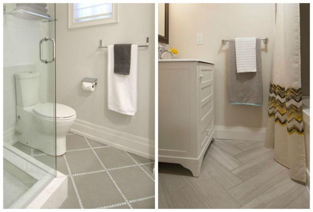 Bathroom Floors  Scott Mcgillivray  Bathrooms & Powder Rooms Delectable Bathroom Flooring Options Decorating Inspiration