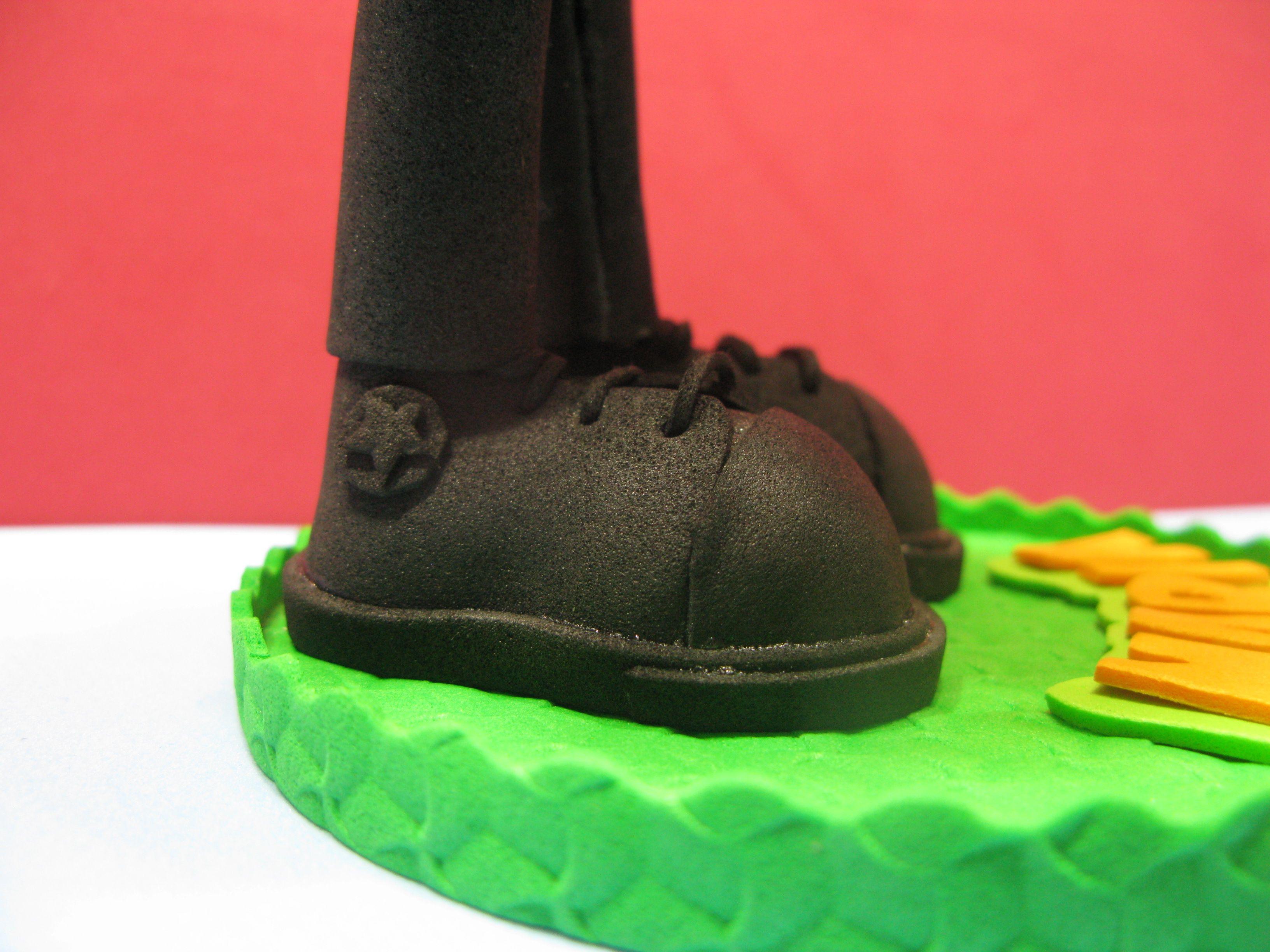 Zapatos CONVERSE de media bota.
