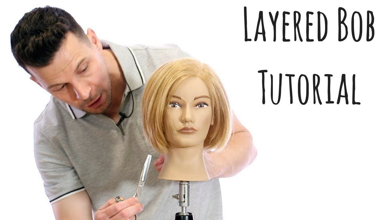 Layered Bob Haircut Step By Step How To Cut A Bob Thesalonguy