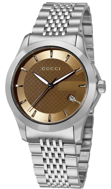 7cfc1064210 Gucci Men s YA126406 Gucci Timeless Watch