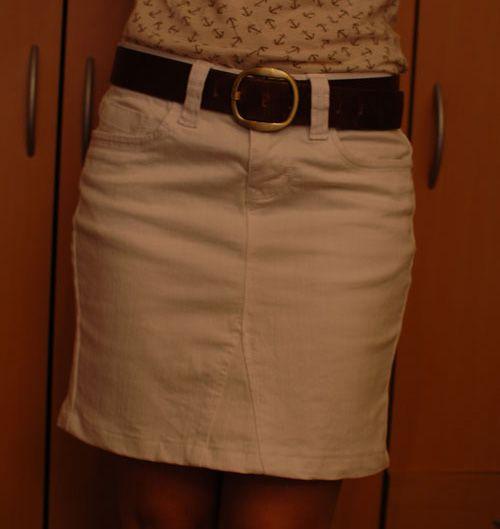 Diy Tutorial Transformar Un Pantalón En Falda Reciclar Pantalones Vaqueros Faldas Pantalones Jean
