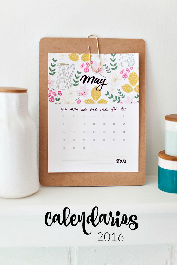 Calendar Ideas Y : Calendario gratuito para imprimir