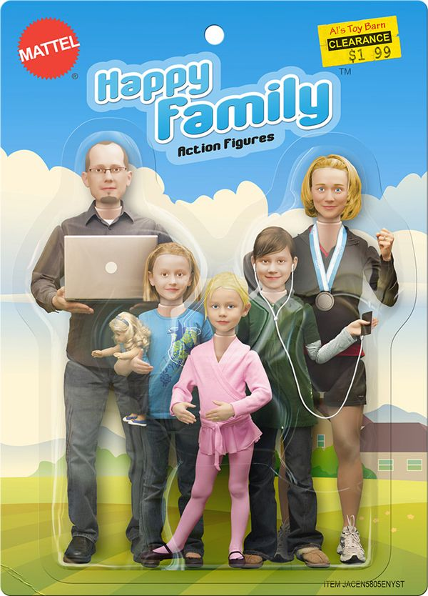 Creative Family Christmas Card Ideas | Portrait Inspiration ...