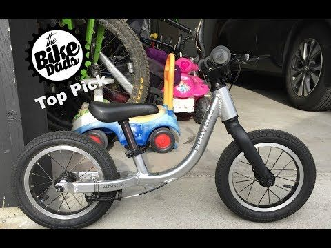 Review The Bike Dads Alpha Zero Balance Bike A Podium Finish