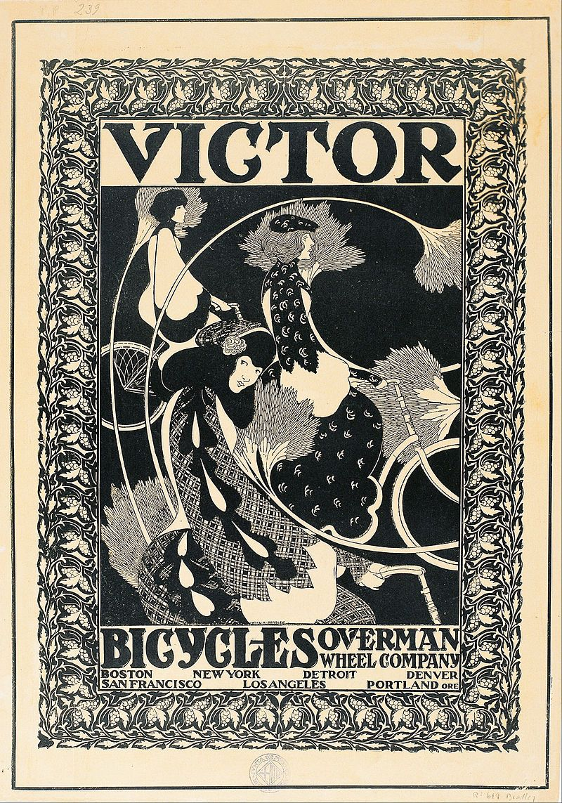 Art Nouveau Wikipedia William Henry Bradley Victor Bicycles Google Art Project Art