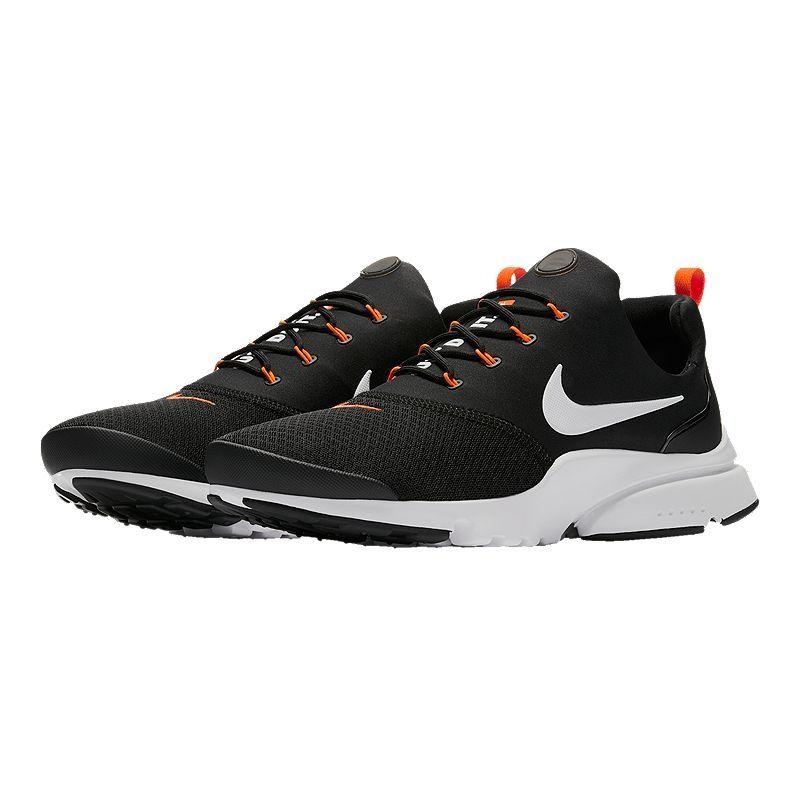 Nike Men's Presto Fly JDI Shoes BlackWhiteOrange   Nike