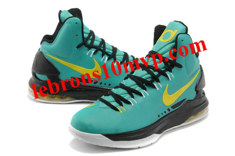 new arrival 48c79 5b0eb Nike KD V Atomic Teal Volt Dark Atomic Teal Fiberglass 554988 300 · Black  NikesNike LebronNike ZoomCheap ShoesBasketball ...
