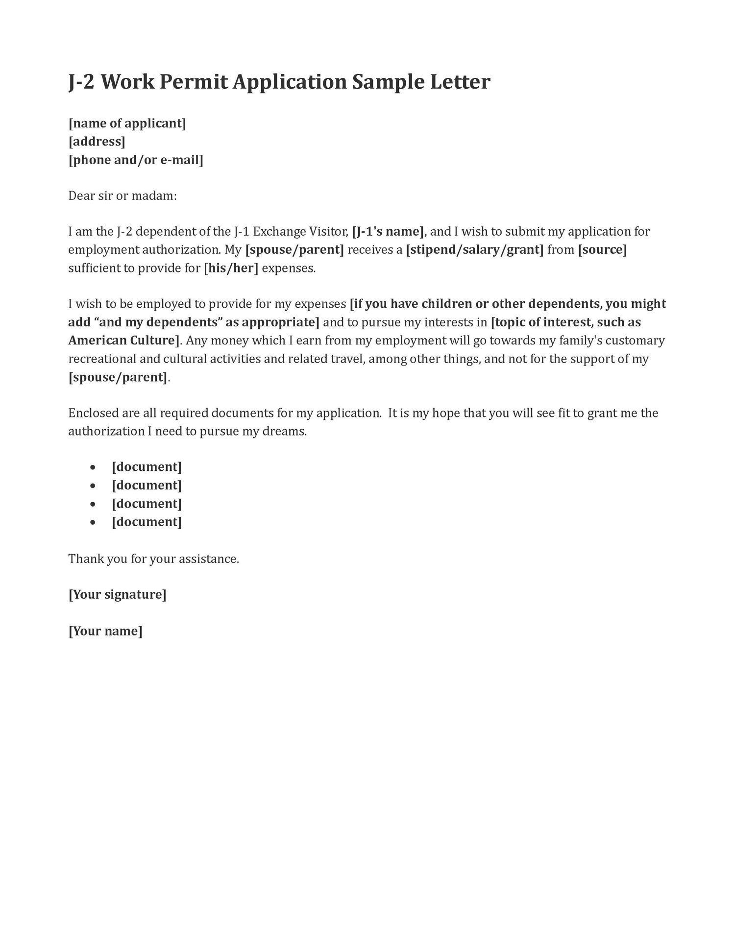 Cover Letters That Worked Letter Work Sample Permit