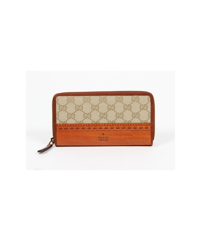 3516d5e479dd29 GUCCI Portafoglio Donna Laidback Crafty Orginial Gg Canvas Zip Around'. # gucci #bags #leather #canvas #