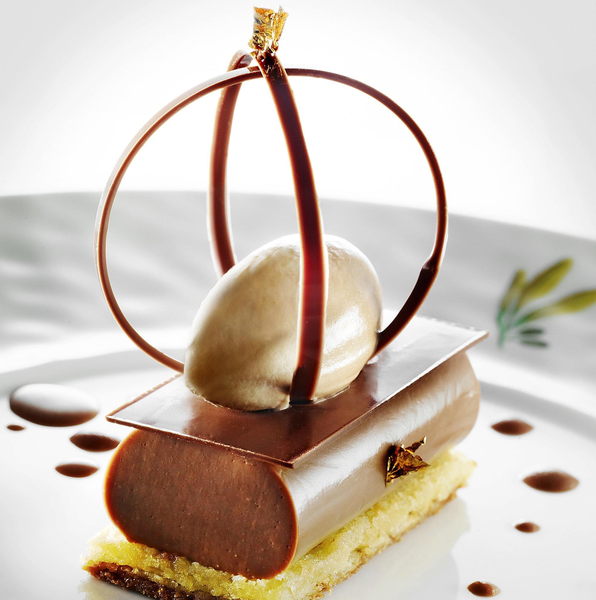 ch teau saint martin spa milk chocolate jivara 40 tender jelly lime ice cream fancy. Black Bedroom Furniture Sets. Home Design Ideas