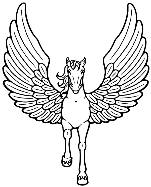 Pegasus Coloring Page Topcoloringpages Net In 2020 Horse Coloring Pages Animal Coloring Pages Horse Coloring