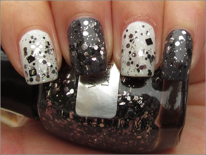 My BF Scales Walls // White Owl Lacquers Moony over OPI My Boyfriend Scales Walls and Zoya Kelly