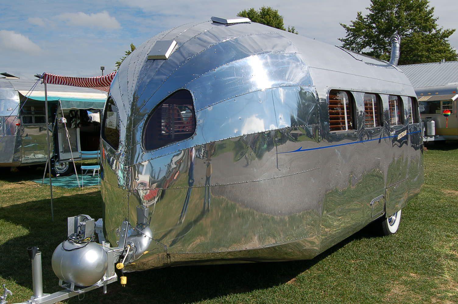 Luxury Airstream Nest Camper Trailer  HiConsumption