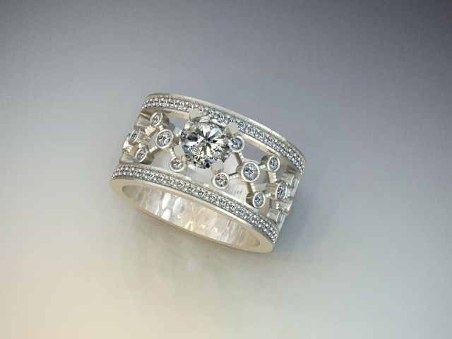 Wide Band Ring iWants and iLikes Pinterest Wide band rings