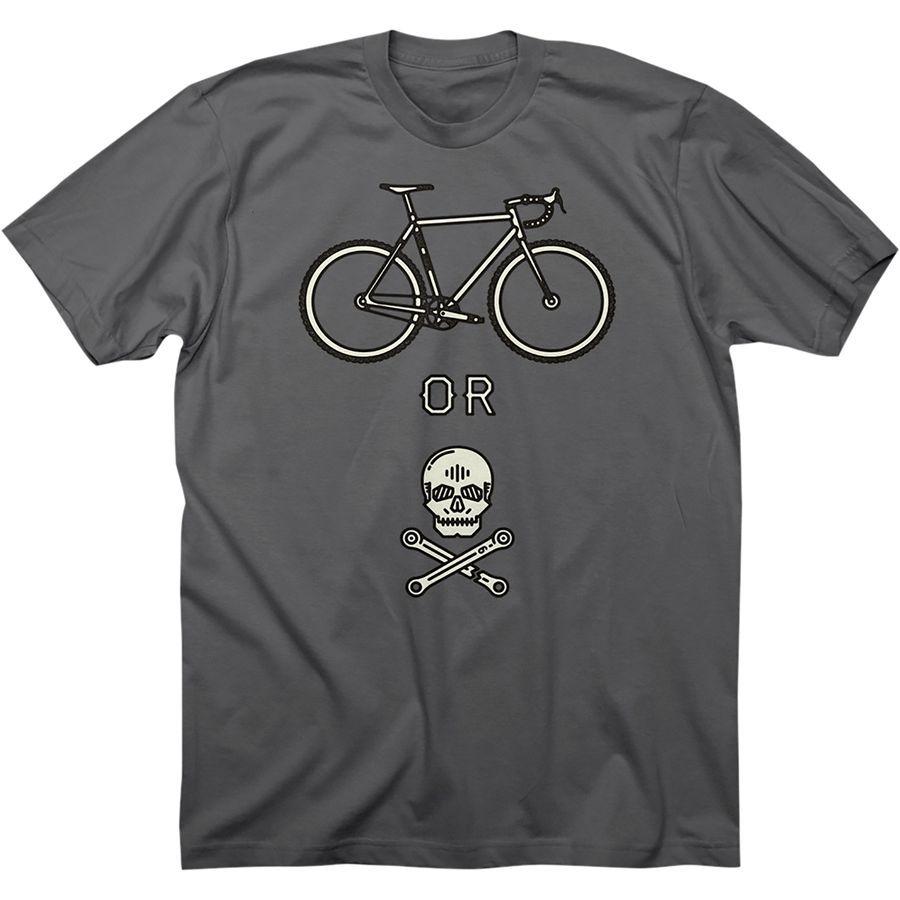 Bike Or Die T-Shirt - Short Sleeve - Men's