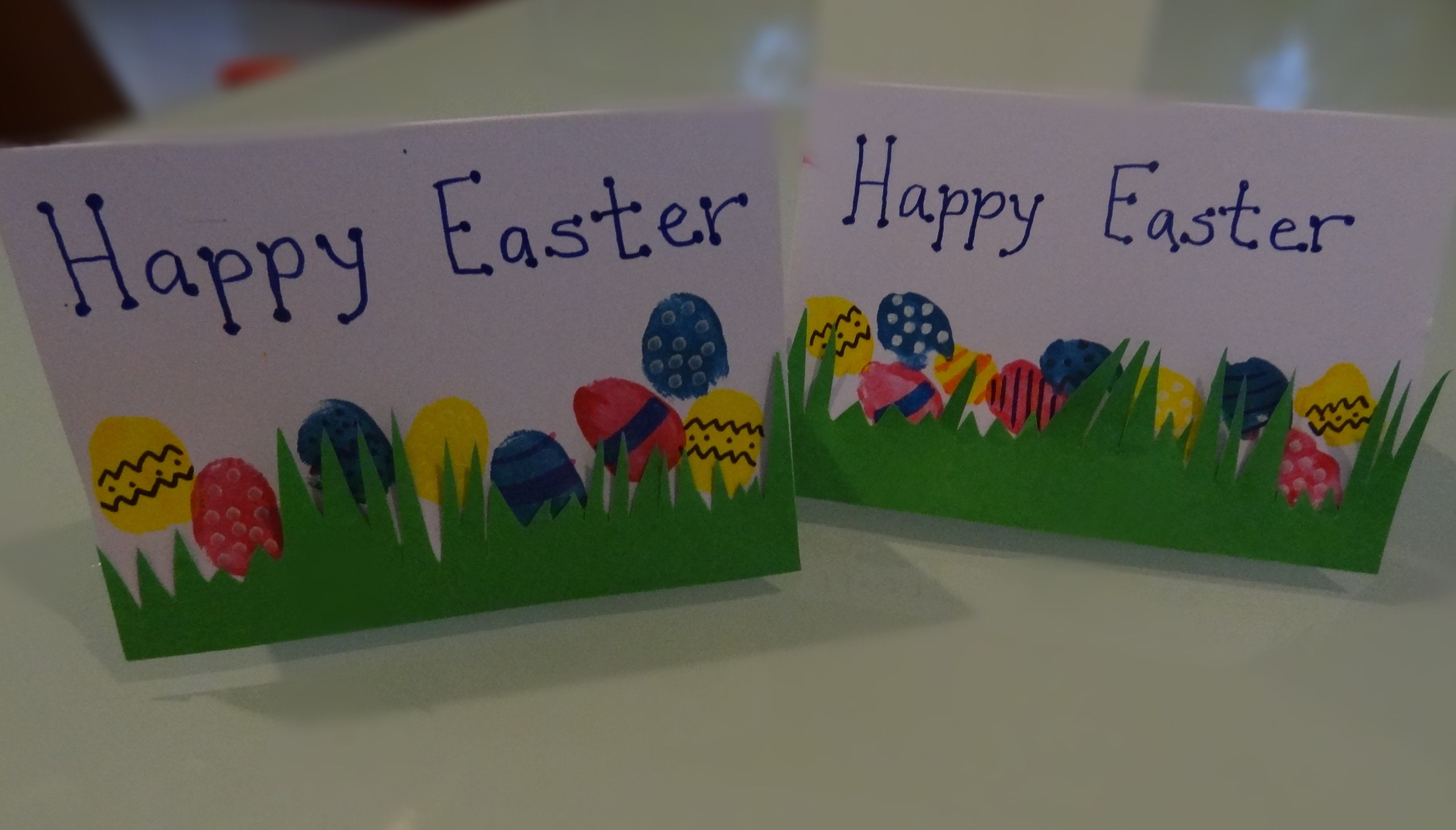 Fingerprint easter egg gift cards there was a crooked house art there was a crooked house easter cardeaster gifteaster negle Gallery