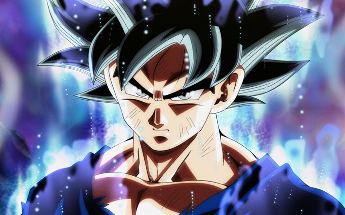 Goku Mastered Ultra Instinct Wallpaper 4k Free Download