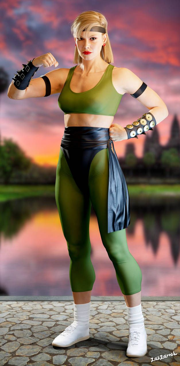 DeviantART: More Like Mortal Kombat - Sonya Blade (Nude