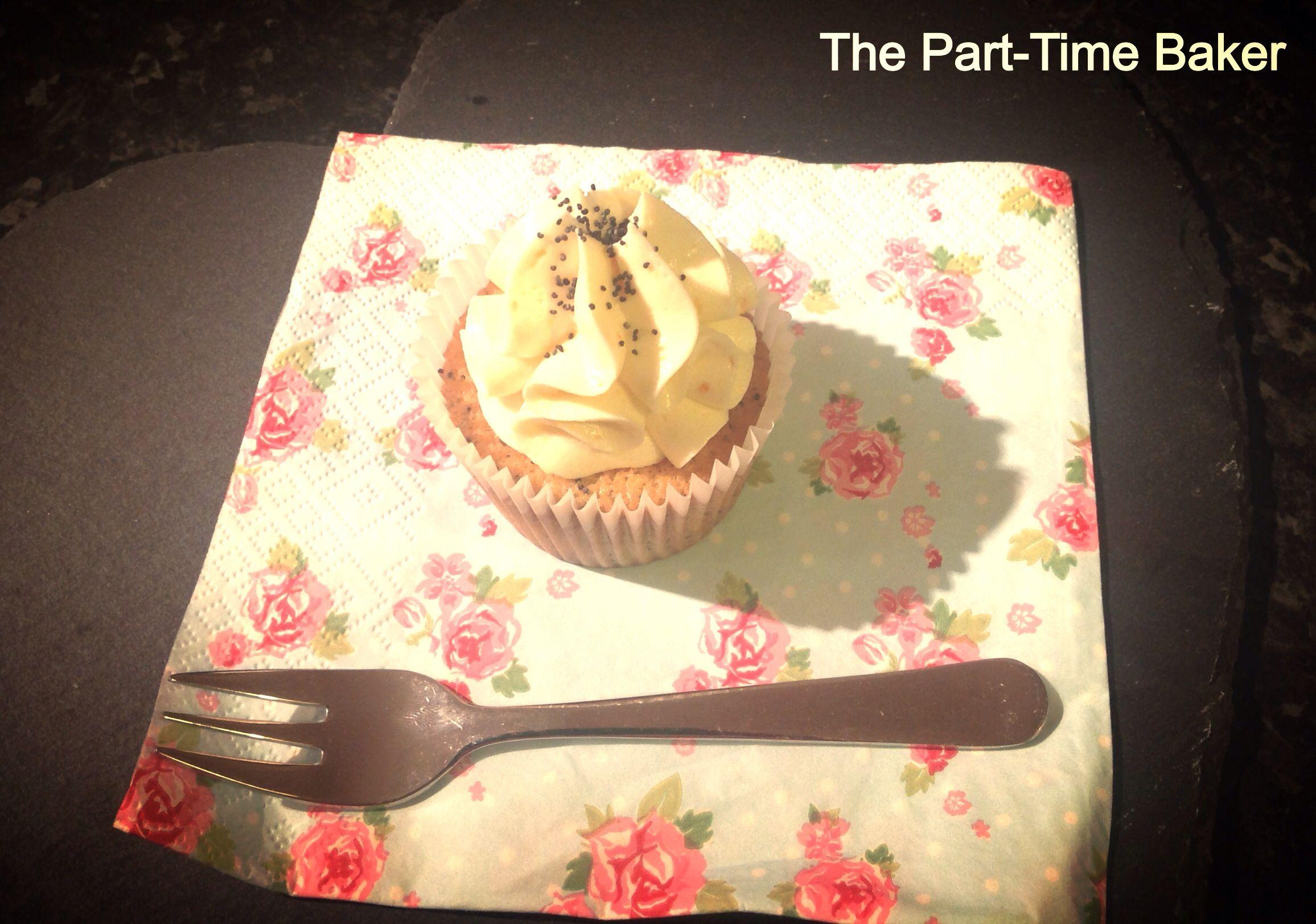 Orange & Poppyseed Cupcakes