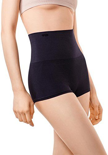 5f97e214c5668 MD Womens Shapewear Compression Underwear High Waist Boyshort Panties Rear  Body Shaper XSmall Black   You can get additional details at the image link.