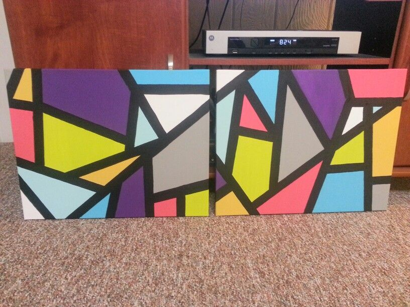 Using Tape To Get Crisp Straight Lines In Painting Tape Painting Diy Canvas Art Diy Canvas