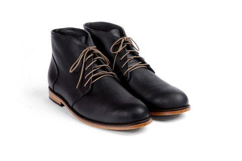 Emilio Chukka Boot Noir