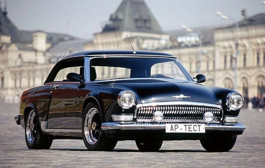 Volga V12 Coupe What Happened With Car Design In Ussr And Russia After This Volga Super Cars Dream Cars