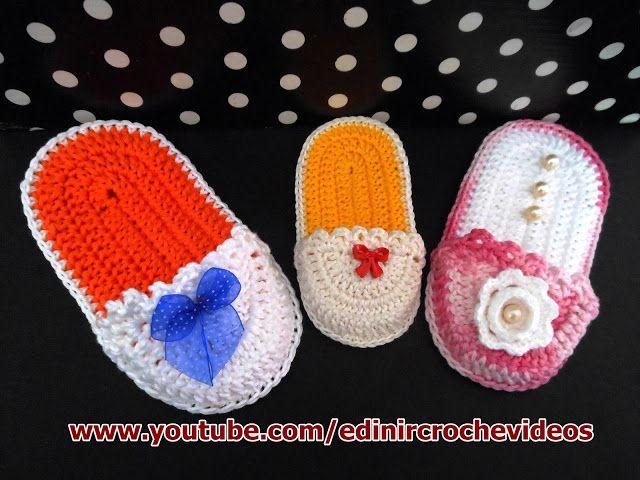 dvd bebê decoração chinelos cursodecroche aprendercroche edinir-croche loja