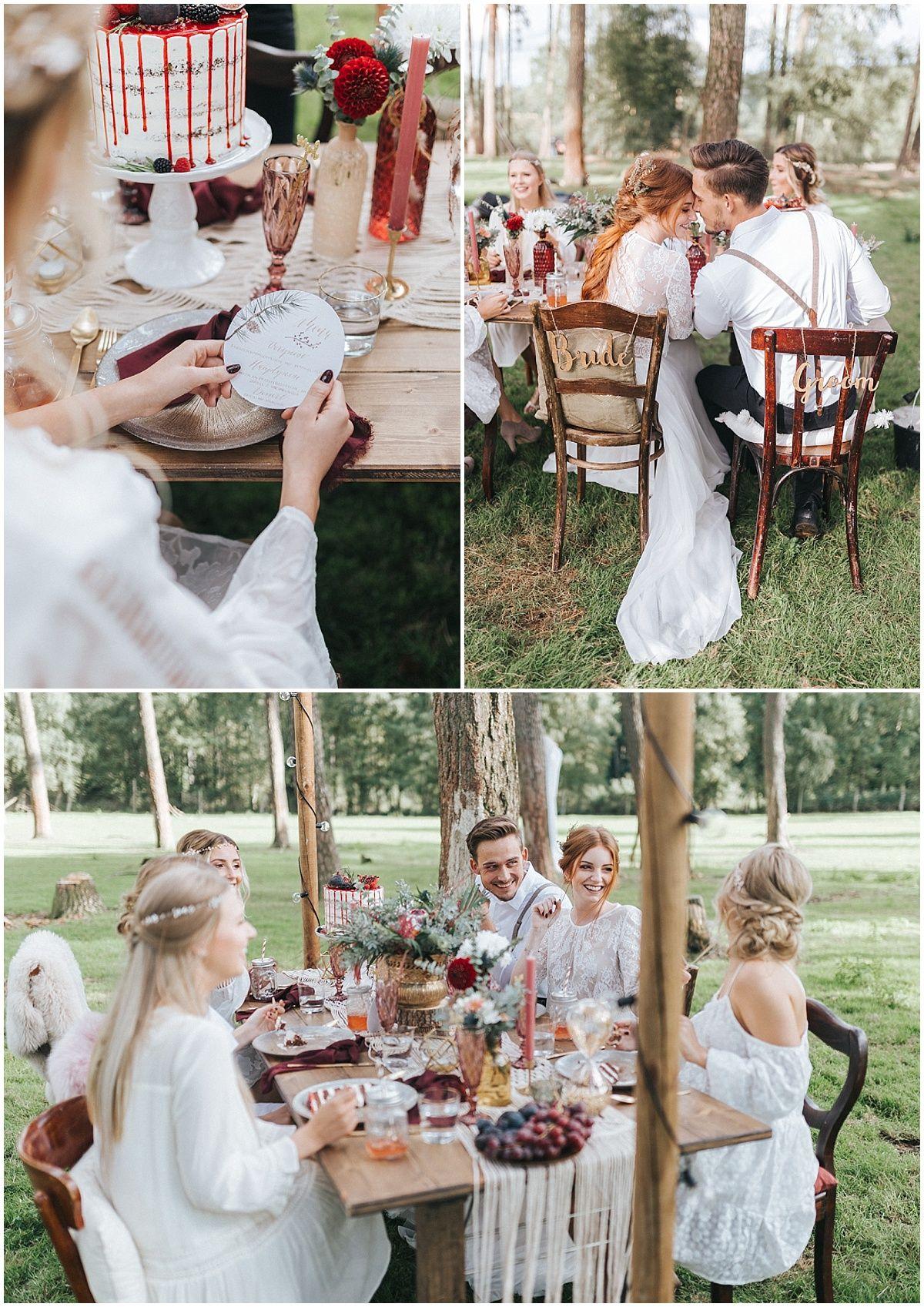 marryMAG: Boho-Hochzeit im Wald - Outdoor-Location