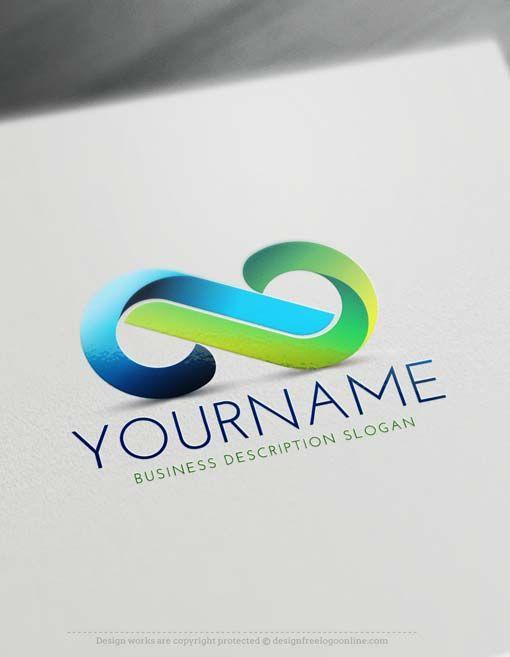 Free Infinity Logo Creator Create Free Infinity 3D Logo