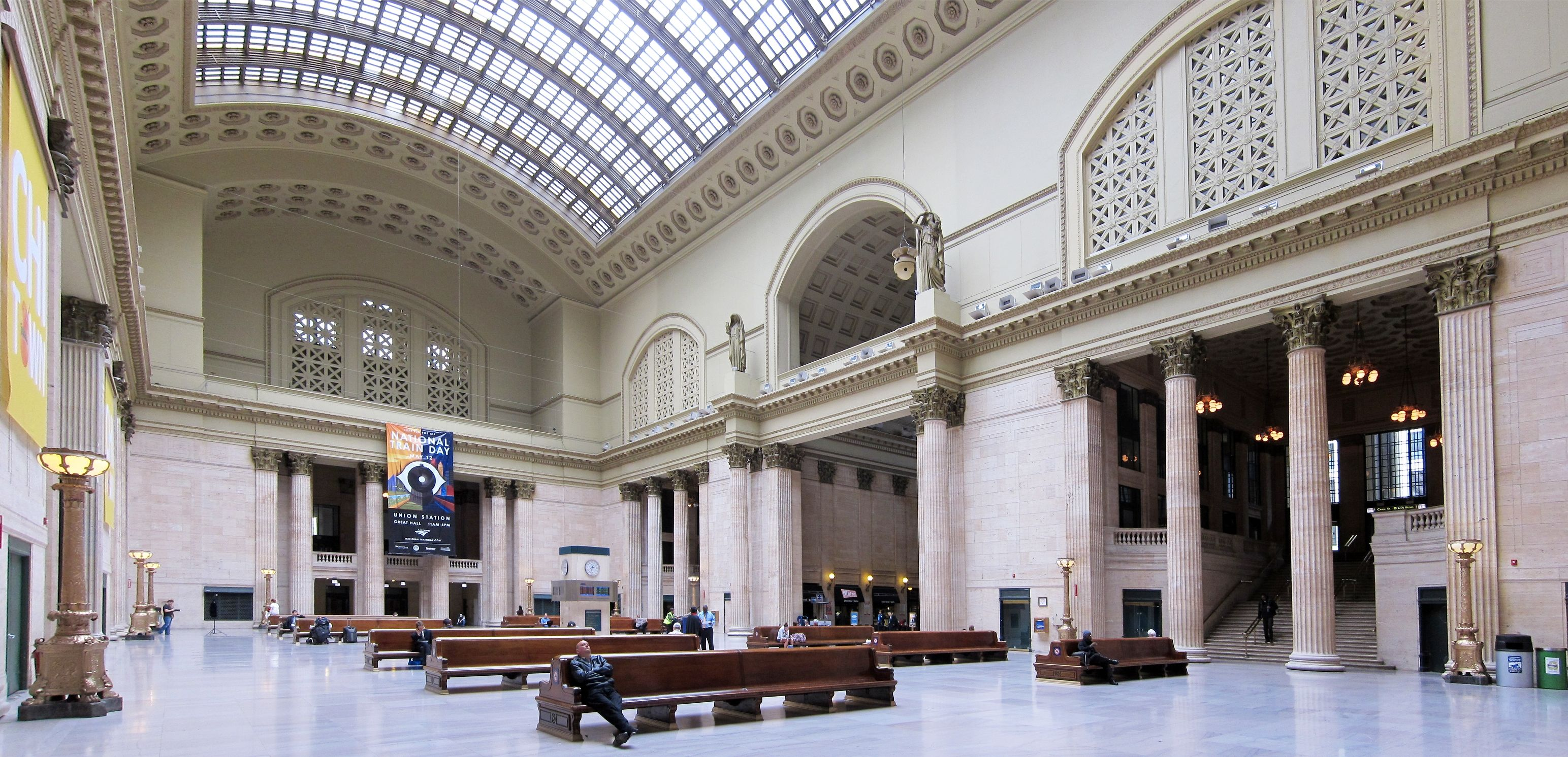 Union Station Chicago Map Google Search AC  Pinterest - Chicago map from union station