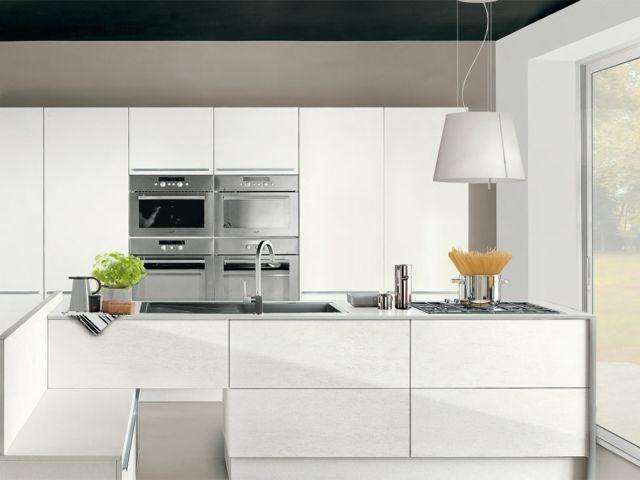 Küchenschrank grifflose Türen Einbaugeräte Kochherd Kühlschrank - tür für küchenschrank