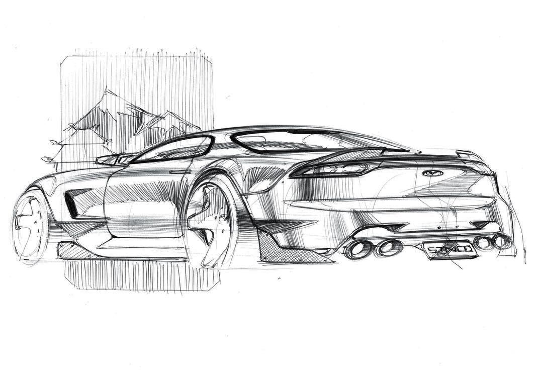 图片中可能有 图画 Car Design Sketch Concept Car Sketch Concept Car Design