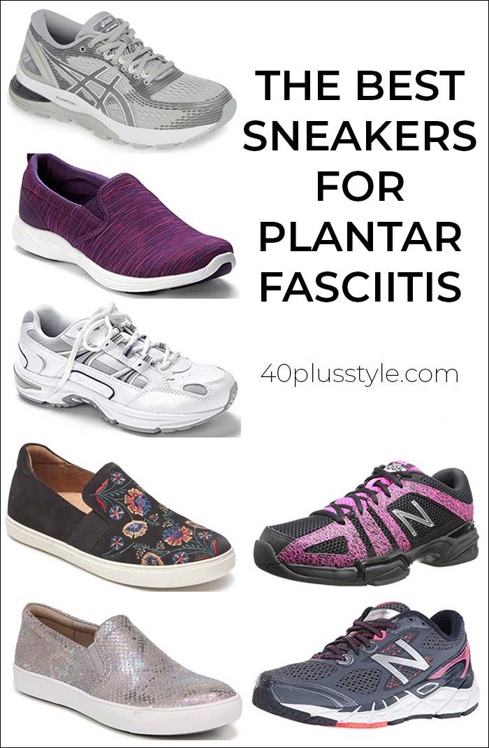 Best Sneakers For Plantar Fasciitis That Are Comfortable And On