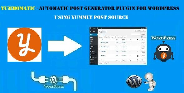 Yummomatic Automatic Recipe Post Generator Plugin for WordPress