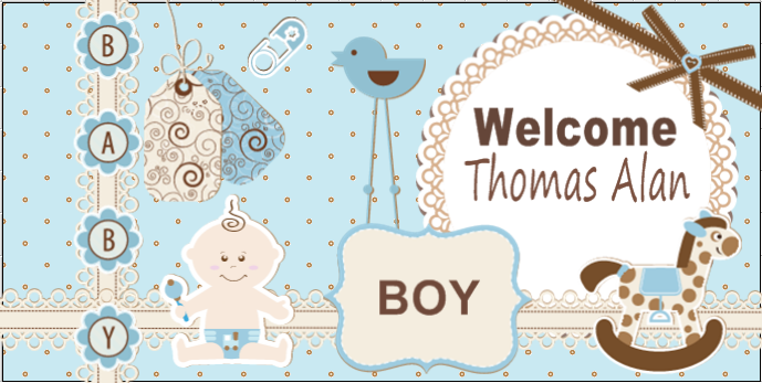 Baby Shower Banners Celebration Banners From Banners Com Baby Shower Banner Welcome Home Baby Baby Banners