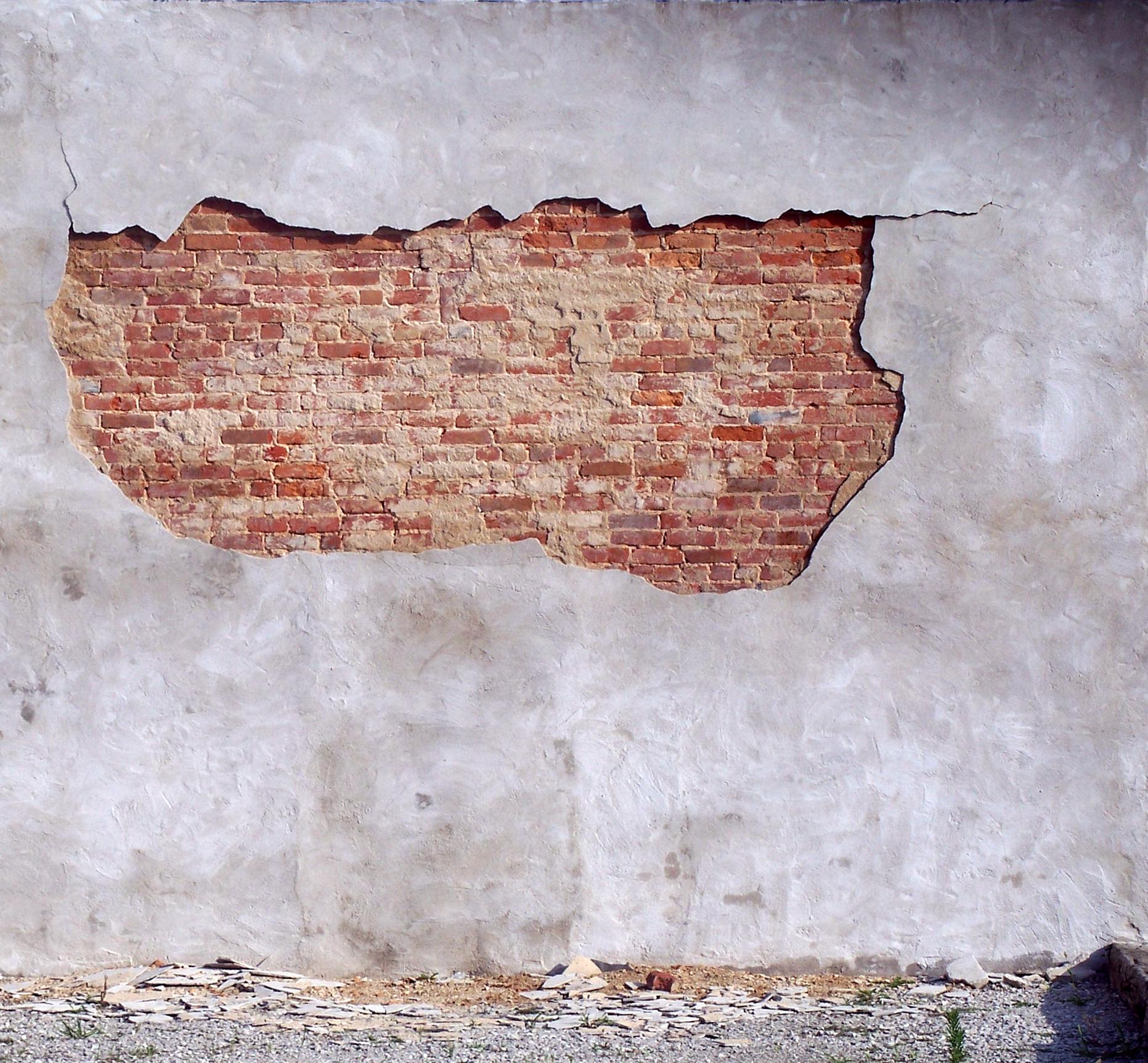 exposed brick - Google Search | Dark | Pinterest | Brick, Brick wall and Plaster walls