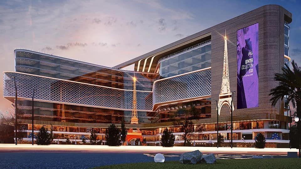 جراند سكوير مول - GRAND SQUARE MAIL أول مول سيتم افتتاحة بالعاصمة الادارية الجديدة بيد أنشائية فرنسية على موقع جغرافى متميز منطقة… | Pyramids, Landmarks, Building