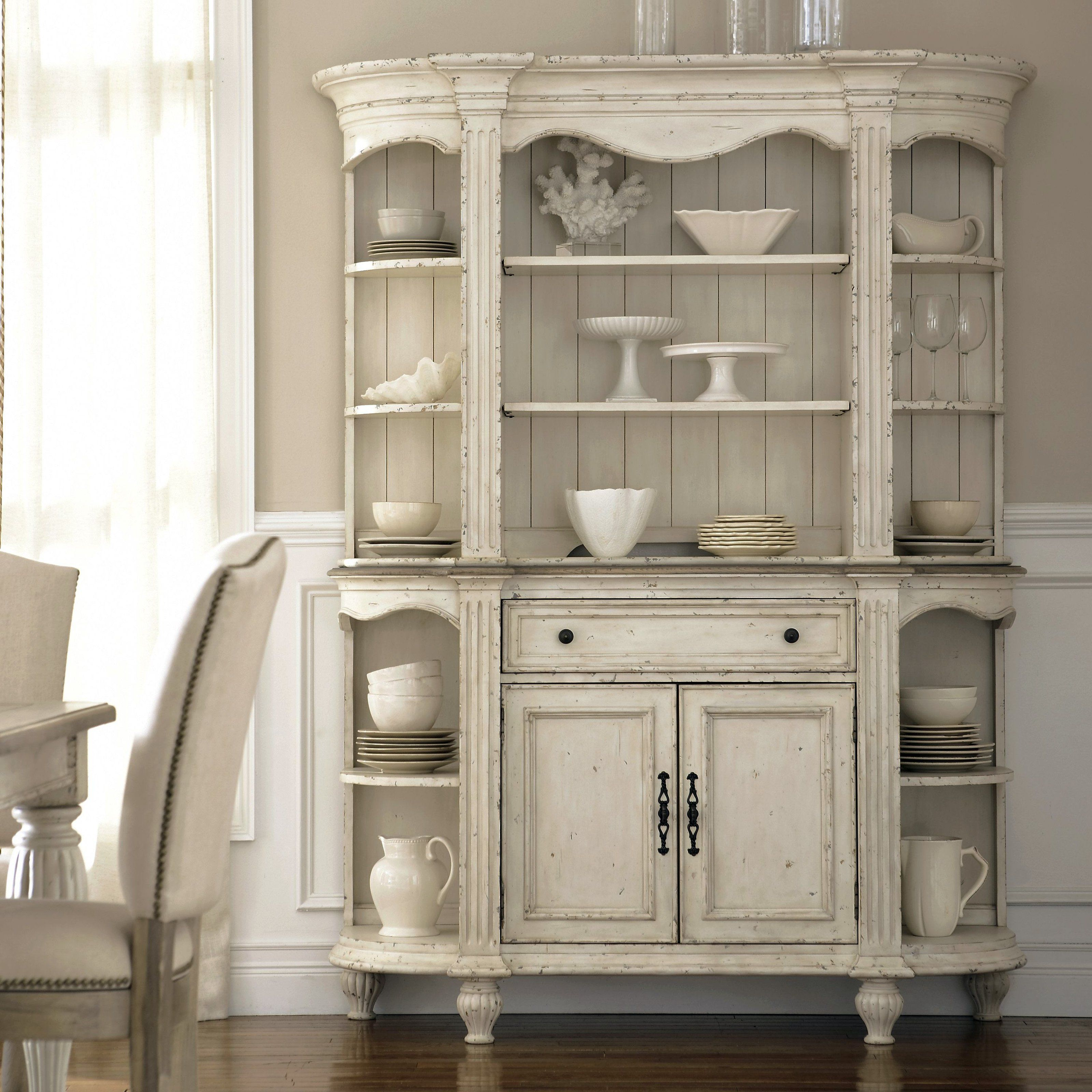 Riverside Coventry Dining Server And Hutch  Perfect For Display Prepossessing Dining Room Cupboard Design Design Ideas