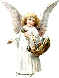 Angel beautiful. Free clip art clipart