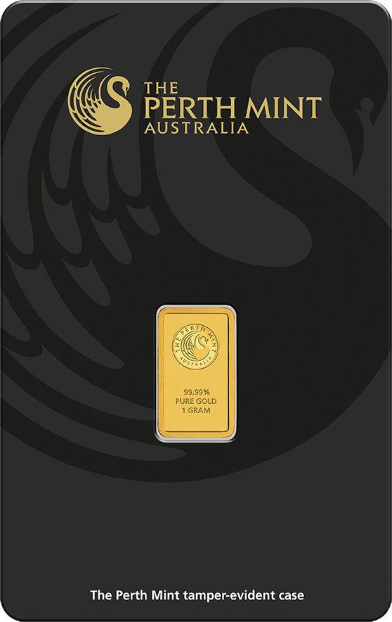 1g Kangaroo Minted Gold Bar Mint Gold Gold Bar Gold And Silver Coins