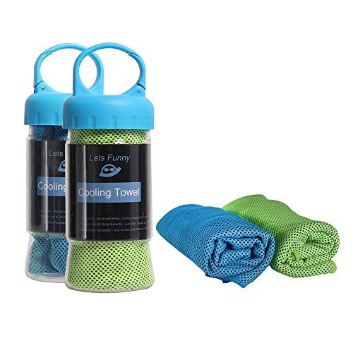 Cooling Towel Letsfunny Cooling Towels For Sports Fitness Gym Yoga
