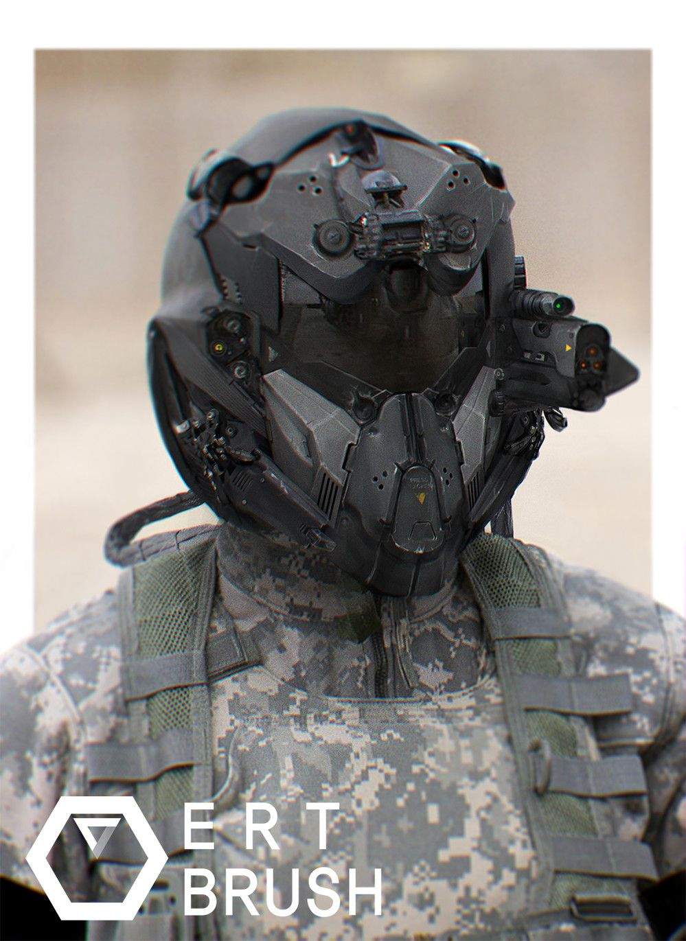 Tactical Helmet on Pinterest | Airsoft, Paintball Mask and ...