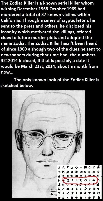 The Zodiac Killers Return Funny Pictures Funny Photos Funny