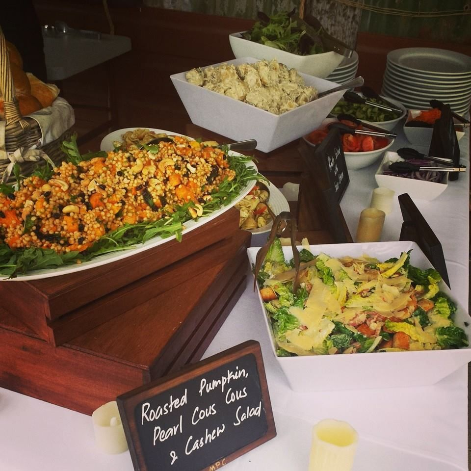 Selection of Salads off the BBQ Buffet Menu