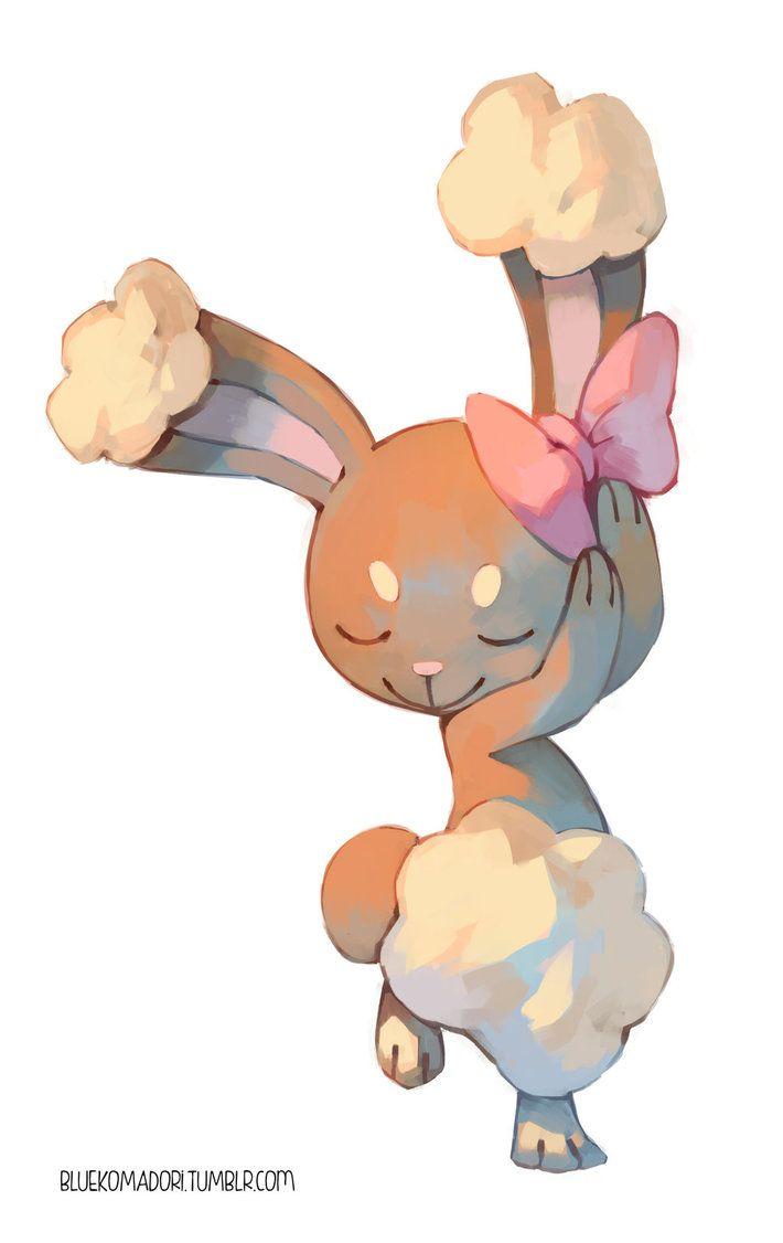 Buneary By Bluekomadori On Deviantart Pokémon Pinterest