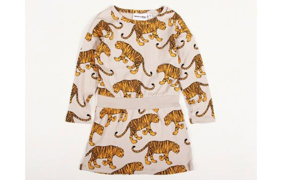 Olive would die over this dress, she love tigers