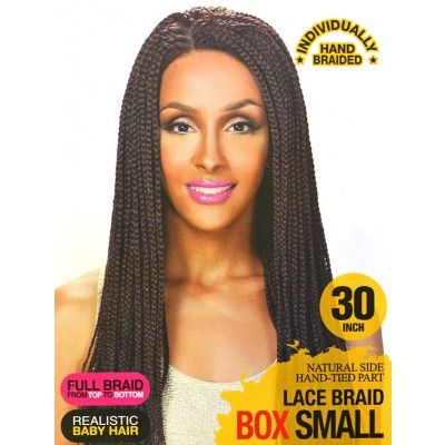 Zury Sis Afro Braid Lace Front Wig LACE BRAID