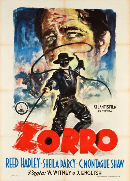 Movie Postersserial Zorros Fighting Legion Atlantis Film 1948