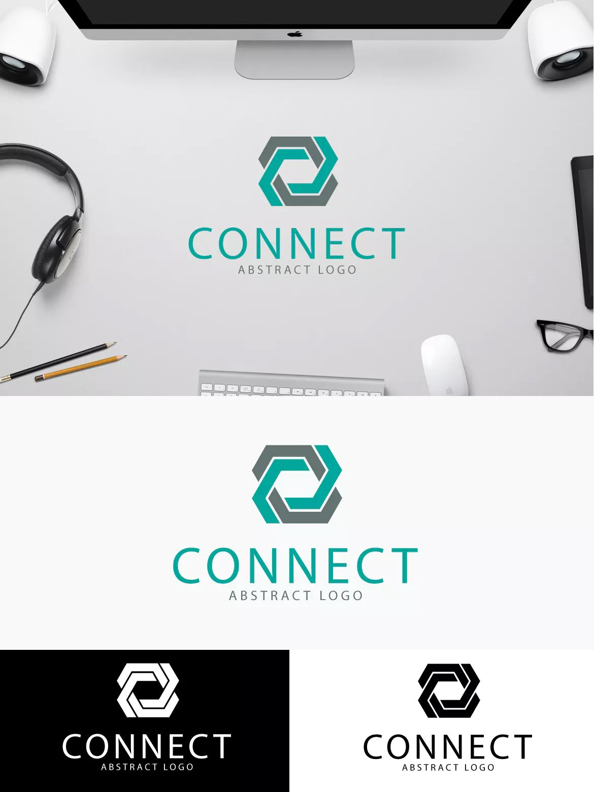 Connect Logo Template Ai Eps Logo Templates Connect Logo Modern Logo Design